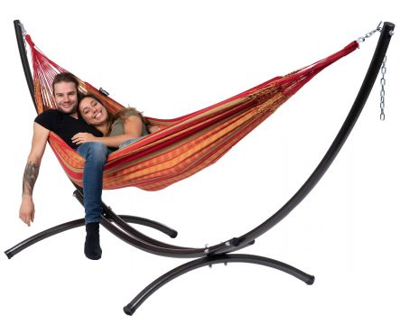 Arc & Chill Happy Double Hammock with Stand