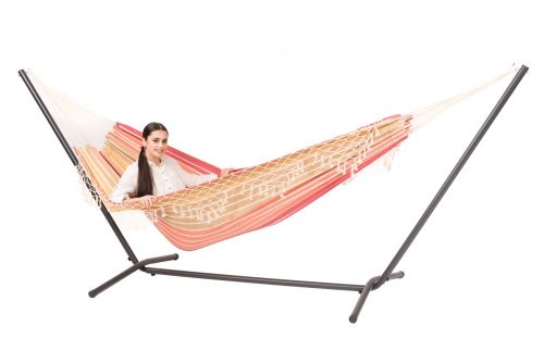 Easy & Tortuga Earth Double Hammock with Stand