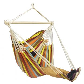 Tropical Autumn Lounge Single Hanging Chair