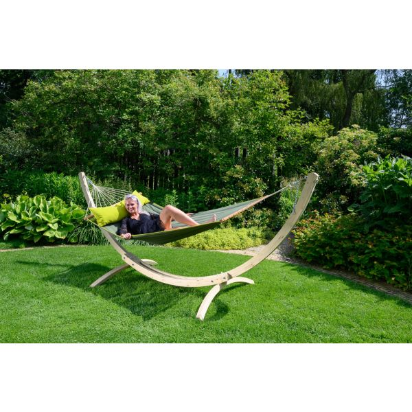 'American' Green Double Hammock