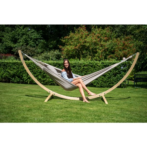'Wood'  Single Hammock Stand